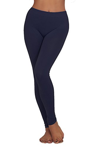 Juniors Waisted Stretch Comfortable Leggings