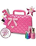 Kids Play Makeup Kit for Girl with Makeup Remover | Washable & Non Toxic Princess Cosmetic Set with Case | Ideal Gift for Toddlers & Little Girls