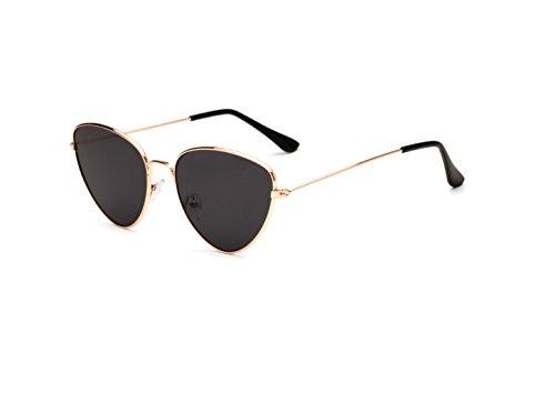 para Ms Sol de Color Hombre Trend 4 de Cat de 6 Sol y América New Metal Sol Gafas Gafas Shoot Street Outdoor Europa Eyes Gafas xYPvqfnOwz