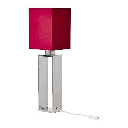 IKEA TORSBO - Lámpara de mesa, de color rojo oscuro: Amazon ...