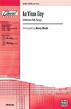 (Lo Yissa Goy Choral Octavo Choir Hebrew Folk Song / arr. Andy Beck )