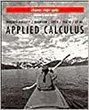 Applied Calculus for Business, Life, and Social Sciences, Student Study Guide, Hughes-Hallett, Deborah and Flath, Daniel, 0471182370