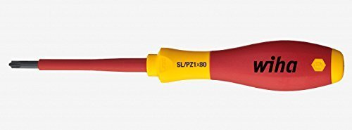 Wiha 30711 Xeno Slotted/Pozidriv #1 Insulated SoftFinish Driver