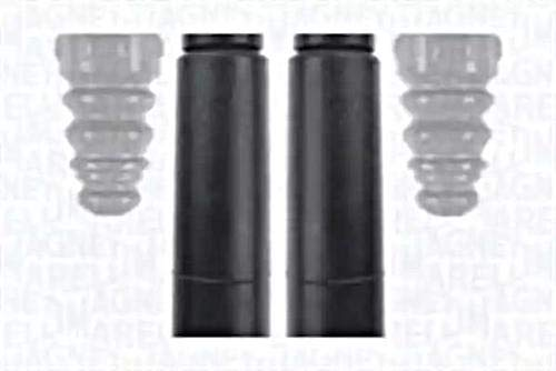 Eje trasero Shock Absorber polvo cover Kit Fits Seat Altea Leon Toledo III 32004-