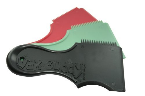 Wax Buddy Wachs-Kamm für Surfbretter grün grün O/S (one size)