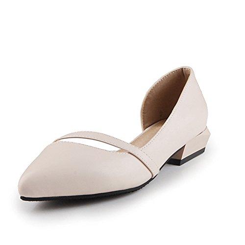 Versión coreana de zapatos puntiagudos en primavera y verano/Zapatos de corte bajo/las chicas princesa zapatos/Zapatos del estudiante B