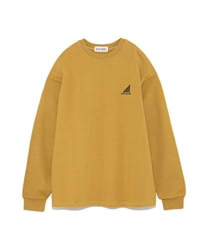 エクステントアリーナで出来ている[スナイデル]バックプリントロンTシャツ SWCT184132 レディース