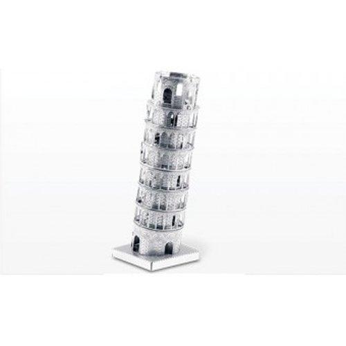 Metal Earth - 5061046 - Maquette 3D - Architecture - Tour De Pise - 6,14 x 4,75 x 4,75 cm - 1 pièce 75 cm - 1 pièce MetalEarth MMS046
