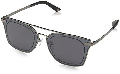 Sunglasses Police HALO 1 SPL348 0627 Unisex Grey - By Police Sunglasses
