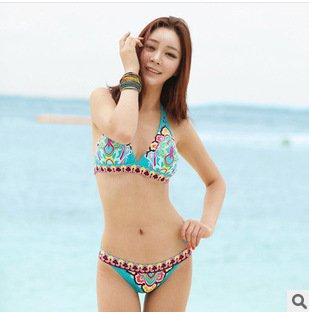 Pyl-yongyidamen - bademode bikinis _,blue m