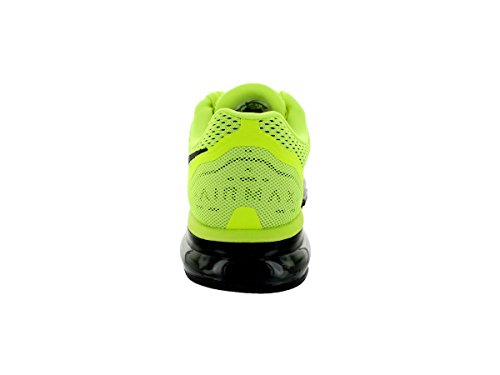 Zapatillas de running Nike Air Max 2014 Volt / Black / Barely Volt / White 8 EE. UU.
