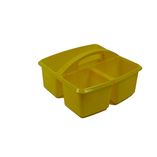 ROMANOFF PRODUCTS SMALL UTILITY CADDY YELLOW (Set of 24) by Romanoff