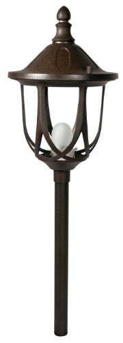 stanford post light rust low voltage path light gl22776rt ebay. Black Bedroom Furniture Sets. Home Design Ideas