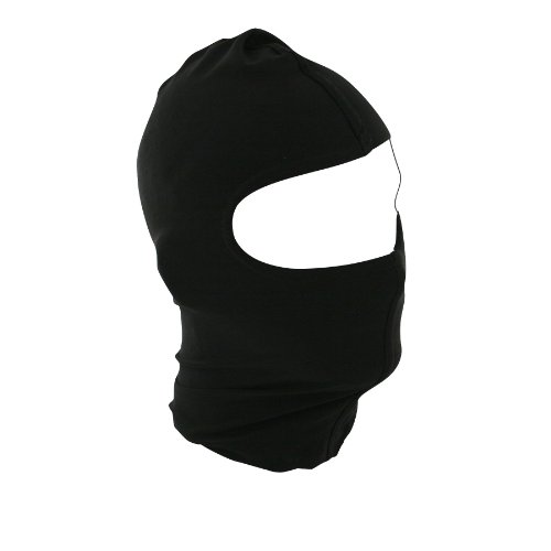 Zanheadgear Black Nylon Balaclava - Cold Weather Face Protection ()