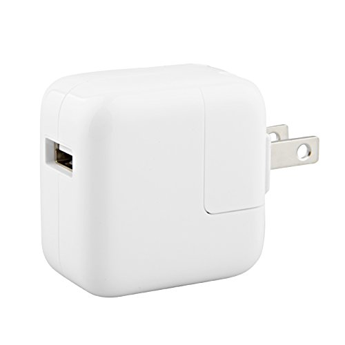 Apple 12W USB Power Adapter MD836LL/A - White (Renewed)