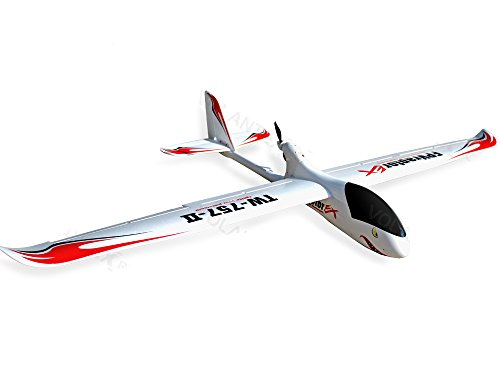 6-Ch Remote Control Ranger EX Long Range FPV Airplane Glider RC PNP w/Brushless Set up + EPO Durability + With Flaps