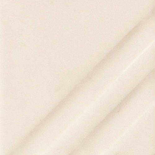 Mayco Foundations Sheer Glaze - FN 221 - Milk Glass White - 4 Ounce Jar - Opaque Milk Glass