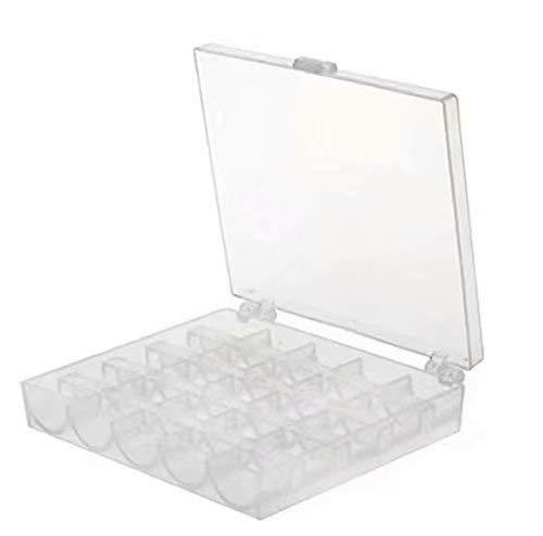 25 transparente Kunststoffgitter