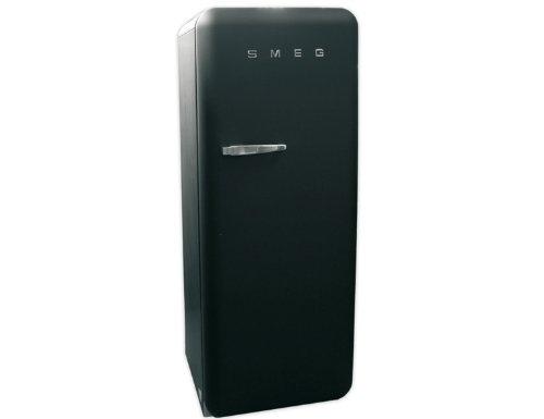 Smeg Kühlschrank Schwarz : Smeg fab rbv kühlschrank black velvet soft touch amazon