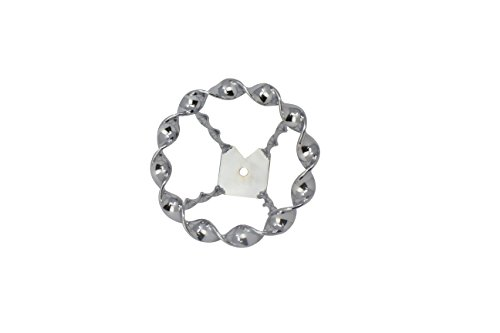 Fenix Chain Bicycle Double Twisted Steering Wheel, Various Styles (Full Flat Twist) ()