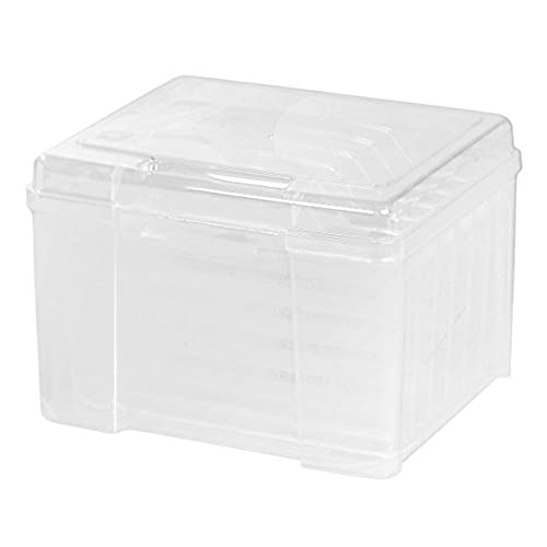 Storage container for greeting cards amazon iris greeting card and craft keeper clear m4hsunfo