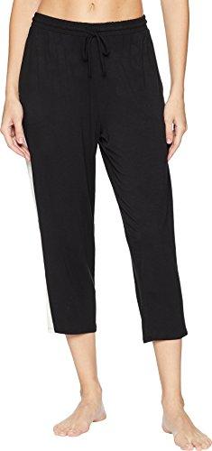 Donna Karan Modal Capri Pajama Pant, XL, Black