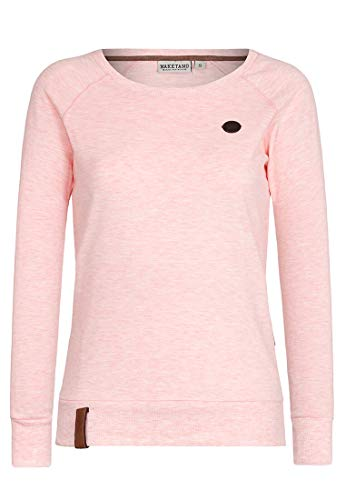 Naketano Muschi Candy M Melange Sweatshirt Female Krokettenhorst 8rgBwx8P