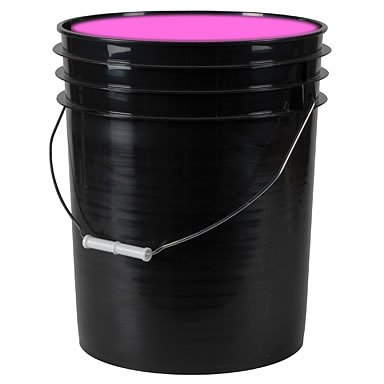 5-Gallon Washable Neon Uv Glow Blackight Paint - Pink -