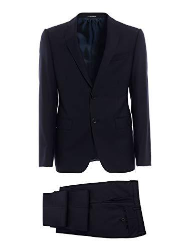 Emporio Armani Men's 11Vmet11601922 Blue Wool ()