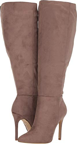 CHARLES BY CHARLES DAVID Women's Dallan Wide Calf Boot Taupe Stretch Medium
