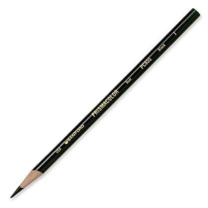 Prismacolor Premier Soft Core Colored Pencil, Black, (2-Pack of 12) by Prismacolor (Image #2)