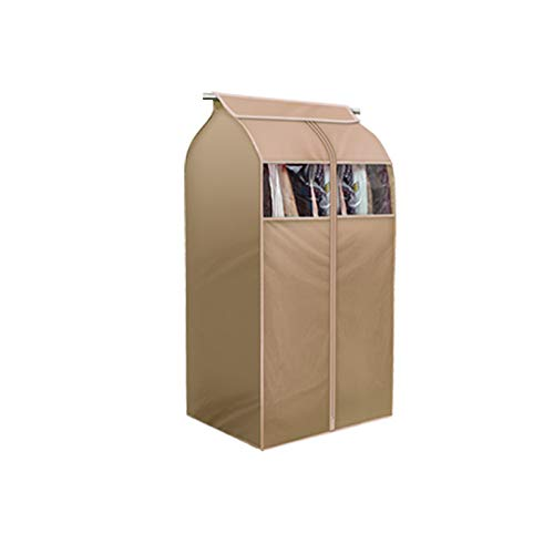Tsing 1 Pack Garment Cover 420D Nylon Oxford Fabric Storage Bag-Beige-32''W23''D43''H (Closet Garment Bag)