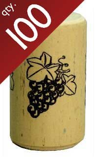 Nomacorc Synthetic Wine Corks #9 x 1 1/2''.  Bag of 100