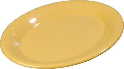 Carlisle 3308622 Sierrus Melamine Oval Serving / Dinner Platters, 9.5