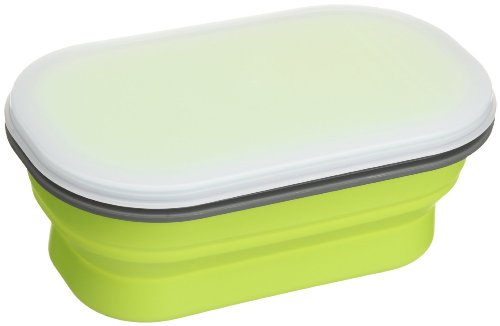 lexington-snabxs-grn-382c-small-silicone-collapsible-snack-box-green