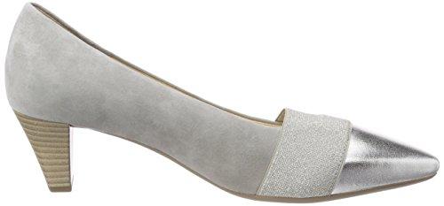 Scarpe Gabor silber Basic stone Tacco Con Donna Grigio 4qBOq1ap
