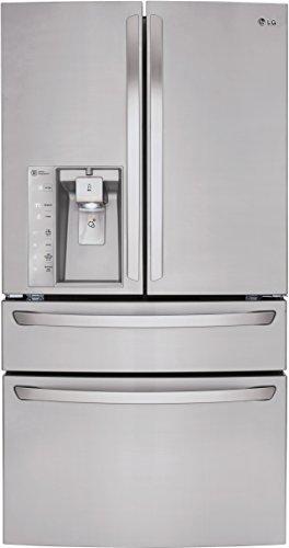 LG LMXS30746S Refrigerator Capacity Stainless
