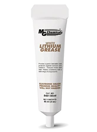 MG Chemicals 8461 Lithium Grease, 85 ml Tube, White
