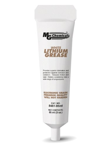 MG Chemicals Lithium Grease, 85 ml Tube, White ()