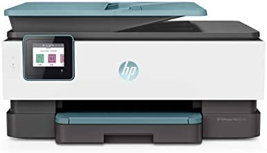 HP OfficeJet Pro 8035 All-in-One Wireless Printer – Smart Tasks for Home Office Productivity – Oasis (3UC66A) (Renewed)