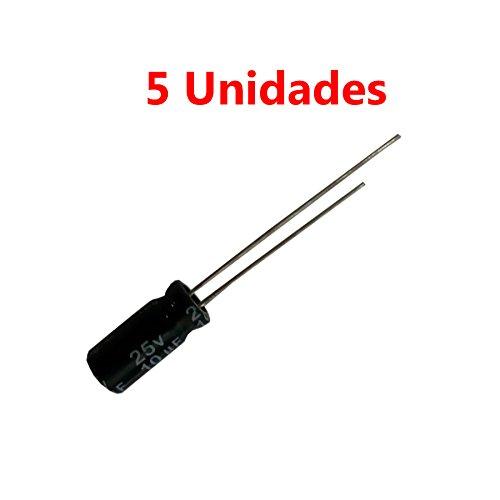 Cablepelado/® Condensador de arranque para motor electrico 6.0 uF 450 VAC