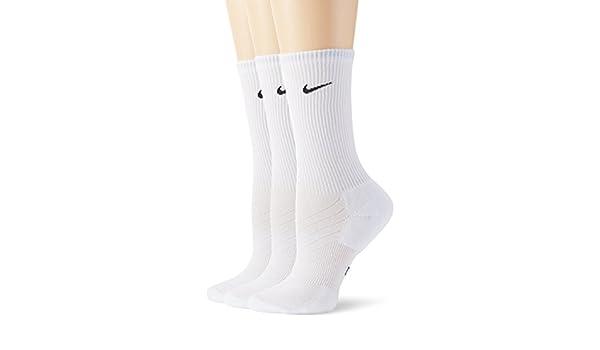 Nike 3-Pair Dri-Fit Crew Calcetines, Hombre, Negro/Blanco, 46-50: Amazon.es: Zapatos y complementos
