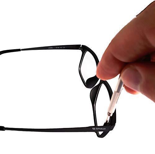 riparatore Anti-DMLA Occhiali Anti Luce Blu Gamer Geek Filtro di Protezione Schermo: TV//Computer//Telefono Sonno riposante SMAWO Anti-affaticamento