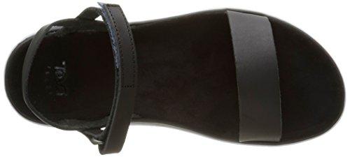 Teva Terra Nova Lux - Sandalias de vestir Mujer Negro - negro (Blk)