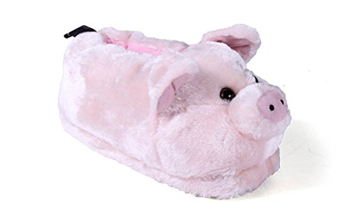 Comfy Feet Pig Animal Feet Youth Slippers