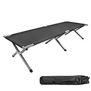 AllRight Single Folding Camping Bed Ourdoor Travel Camp Bed
