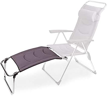 Kampa Lusso milano maille Repose-pied Gris
