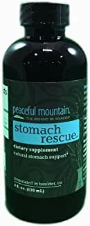 Peaceful Mountain Stomach Rescue, 4-Ounce Packages (Pack of 3)