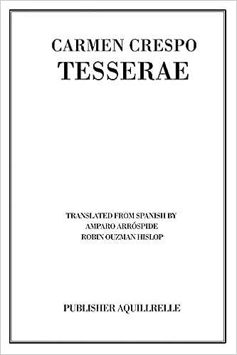 Tesserae Book Cover