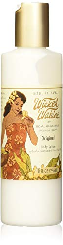 Wicked Wahine Original Body Lotion with Macadamia and Kukui Nut Oils